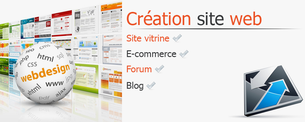 Cr ation site internet site internet sur mesure for Idee creation site internet